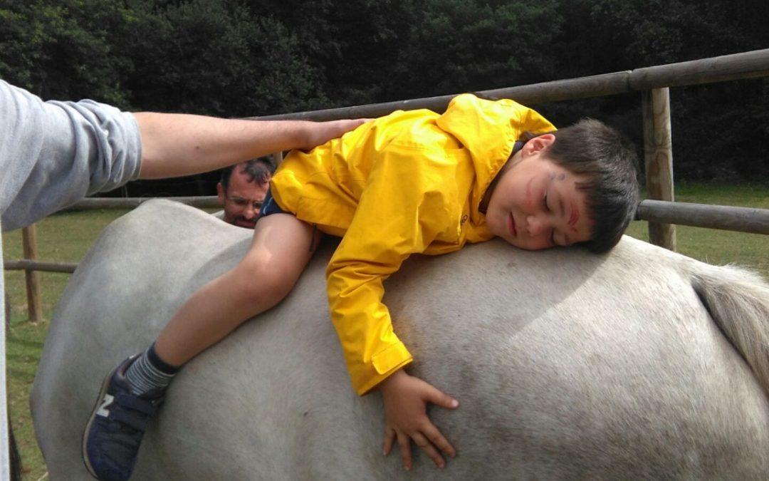 Interacción con caballos – niñ@s